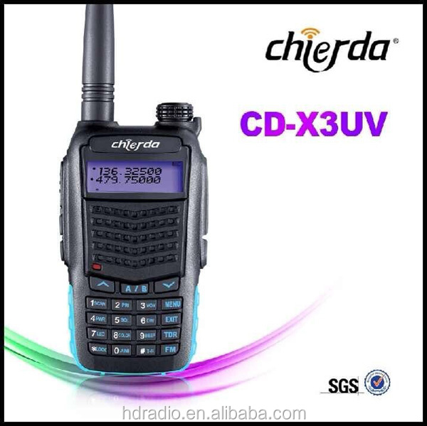 China Two Way Radio VHF UHF Dual Band Handheld CB Two Way Radio (CD-X3UV)