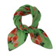 Latest lady scarf women 70cm small neck crinkle scarves