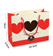 Wholesale Printing Colorful Wedding Paper Valentine Gift Bags