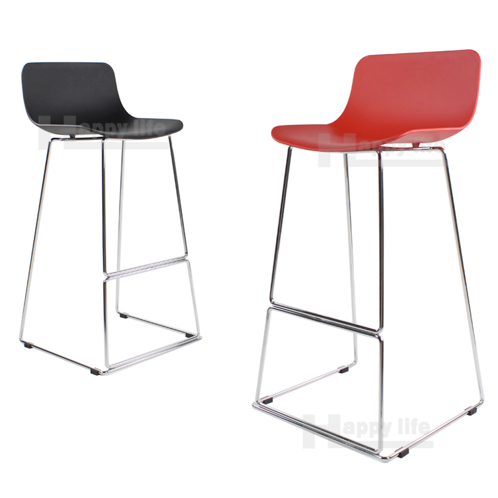 Modern Plastic Bar Stools Baxton Studio Infinity Clear  : Modern plastic bar stool with steel leg from doublesmedia.net size 1000 x 1000 jpeg 121kB