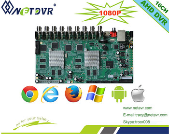Hot Sale Dvr Pcb Board 8ch Dvr 1080p Cctv Dvr Motherboard Ahd ...