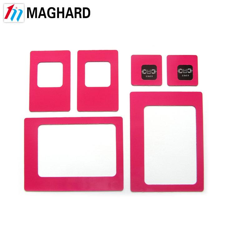 Magnetic Mini Colored Locker Photo Frames Setdiy Rubber Magnet
