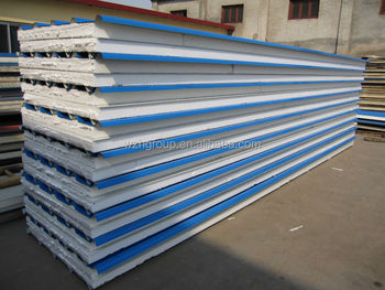 Eps sip panel metal sheets two sides eps foam core for Sip panels buy online