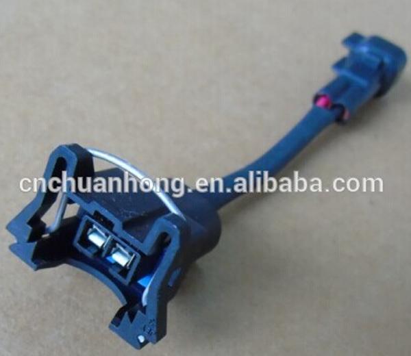 Ev1 Injector To Ev6 Harness Fuel Injector Plug Adapter Connector Fit Bosch  Injection For Gm Ls1 Lsx Vortec - Buy Ev1 To Ev6 Conversion,Ev1 To Ev6