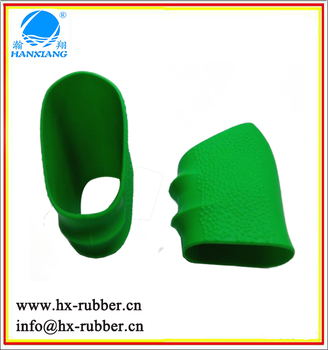 Semi-auto Handle Grip Slip-On Sleeve Manufacturer Rubber Grip Sleeve Custom