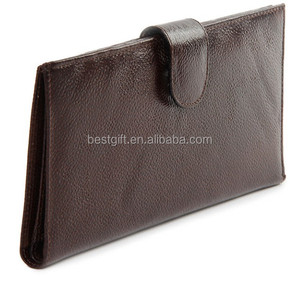 Multiple Compartments Designer Gary Leather Wallet