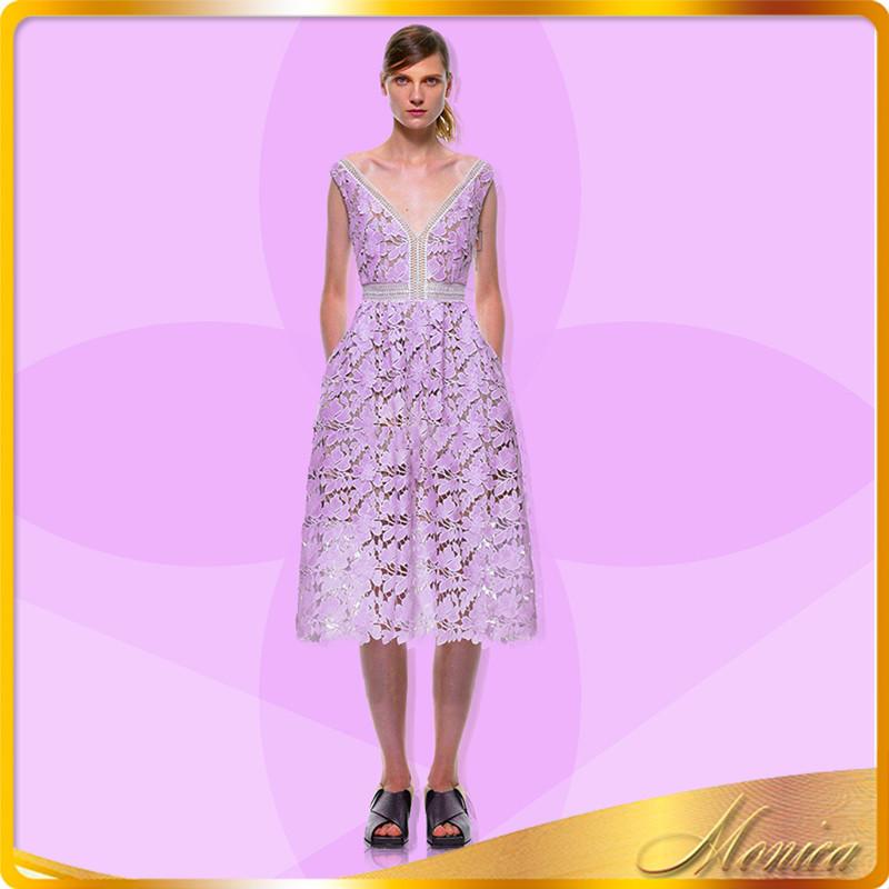 Venta al por mayor vestidos de fiesta color purpura-Compre online ...