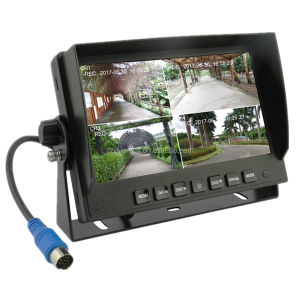 "Top quality 7"" 720P tv led motorized car headrest monitor"