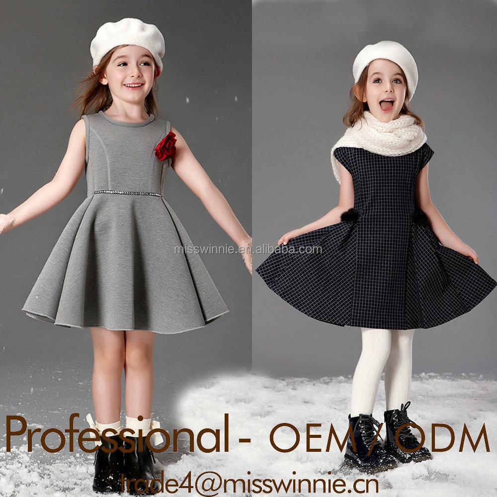 Guangzhou Wholesale Childrens Clothing Latest Children Dress Designs Kids Fashion Girl Manufacturer