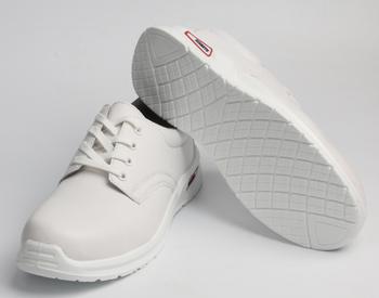 Weiße Medizinische Orthopädische Schuhe Krankenschwester Rutschfeste  Küchenchef Sicherheitsschuhe / Sicherheitsschuhe