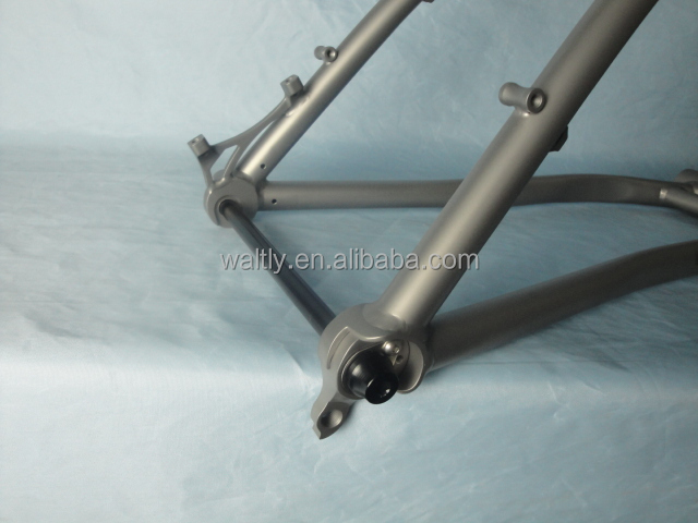 "Custom make Titanium mountain bike frame for 26"" fat tires"