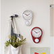 Sweep Movement Analog Wall Clock With 60 mins Countdown Timer Promotional Clock