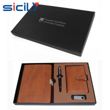 2016 luxury classical notebook&pen unique gift idea for business men promotional gift
