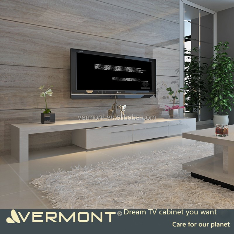2017 design moderne meuble t l avec led rangement salon - Meuble tele a led ...