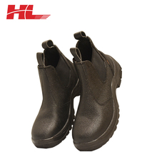 S3 steel toe cap working cow leather No Lace Safety Shoes