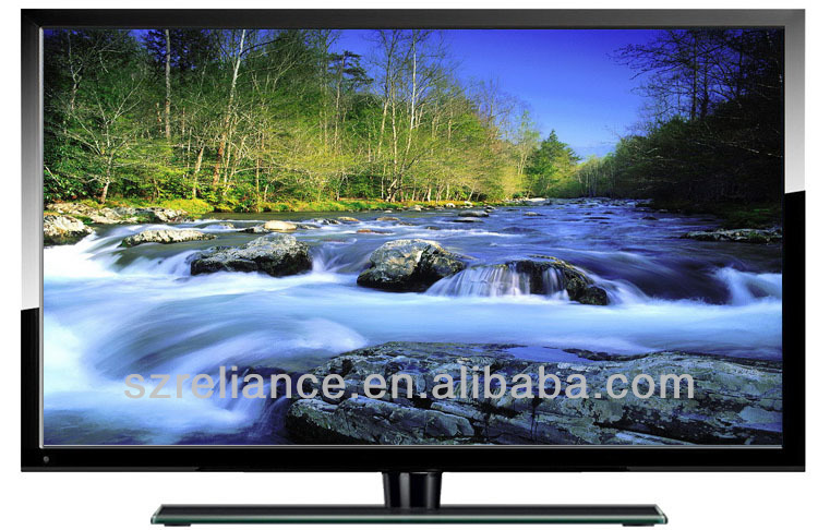 "low price slim bezel edge 55"" led wifi tv FHD/DVBT2 HDMI and USB/optional smart andriod/3D tv"