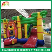 Customized Size Popular Sport Game Inflatable Castle For Kids Party