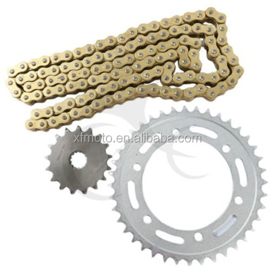 For Kawasaki ZZR400 1989-2003 95 96 97 ZZR600 ZX600 Chain and Sprocket Extreme Kit