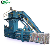 Plastic bottle garbage compressor Hydraulic baler machine