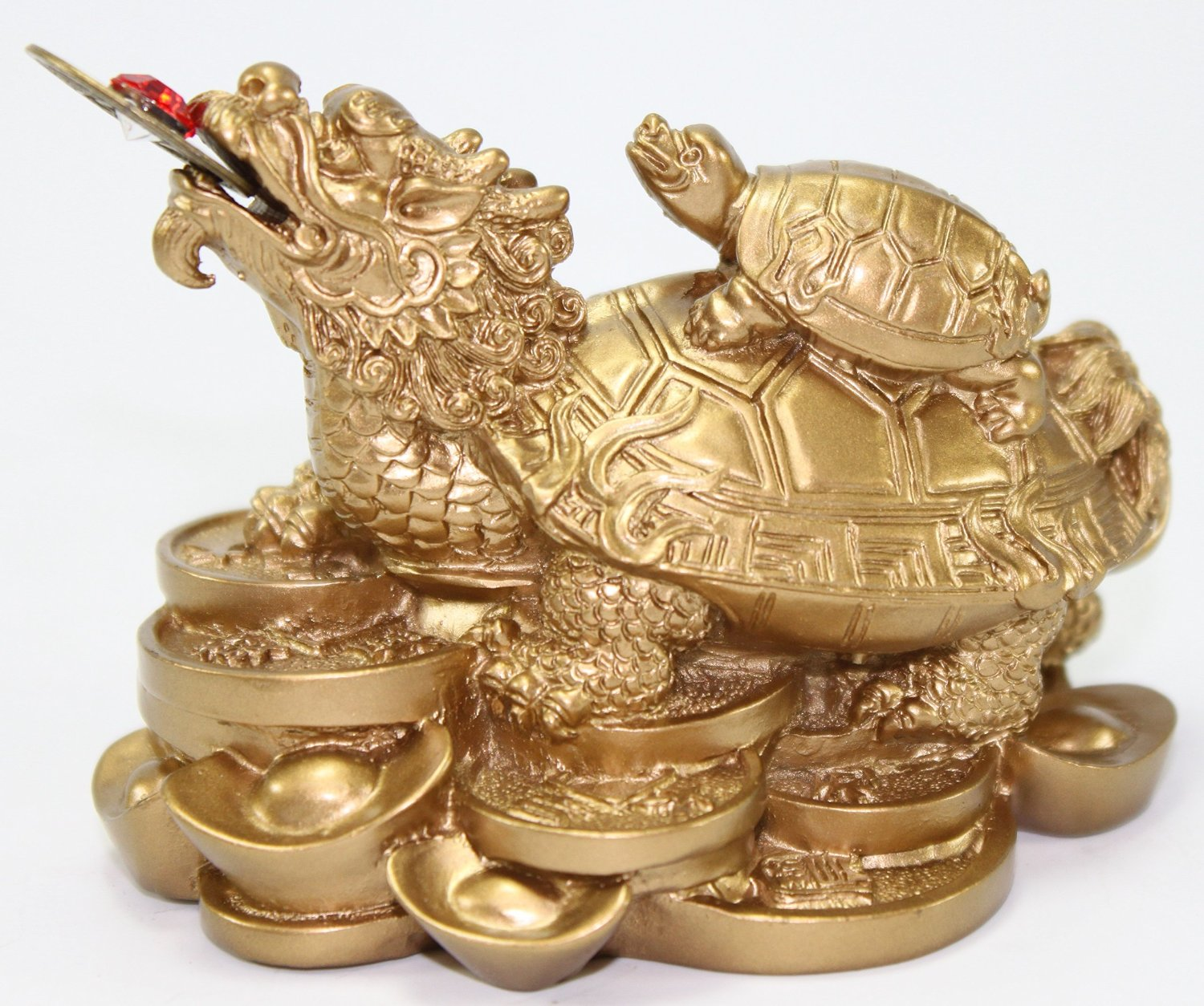 Cheap gold dragon feng shui find gold dragon feng shui deals on feng shui gold dragon turtle wealth protection statue figurine housewarming congratulatory paperweights gift home decor us biocorpaavc Images