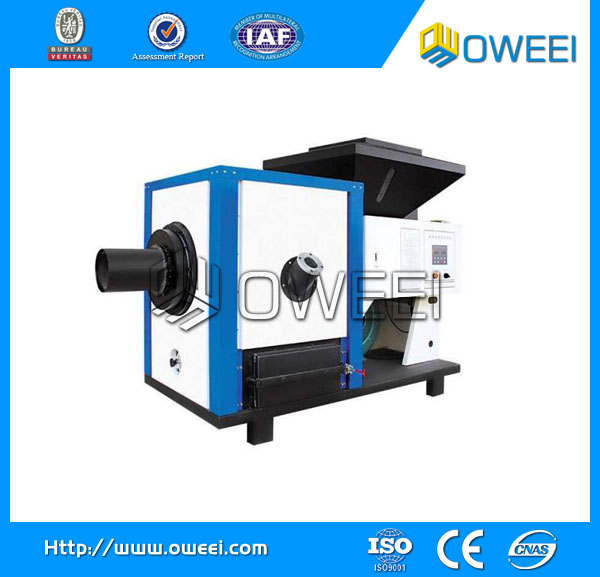 Industrial automatic wood pellet fuel fired burner for boiler , steam boiler , hot water boiler