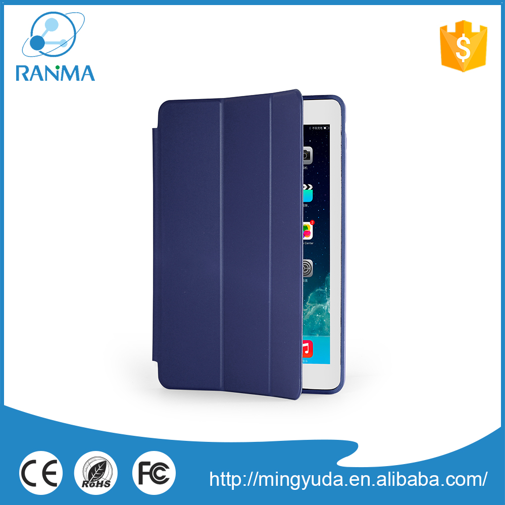 Customized fashionable tpu leather tablet case for ipad air