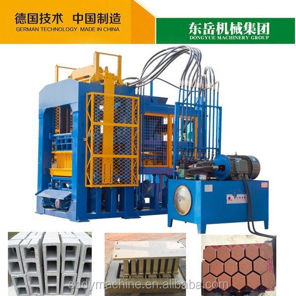 NOAH automatic color pavers and hollow block brick making machine