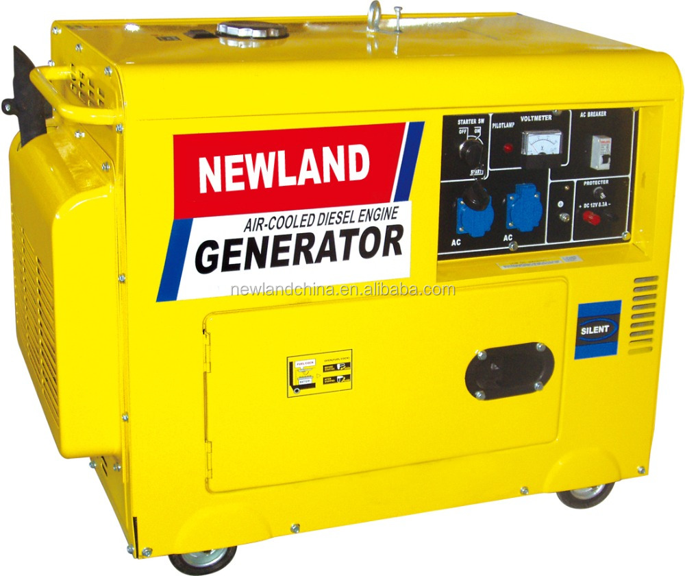5 kW generator (diesel): technical specifications 25