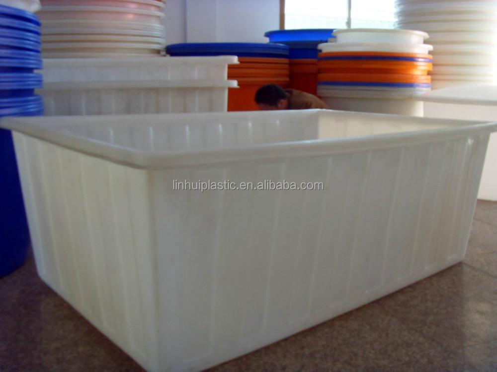 Preformado fibra estanques de peces de pl stico blanco for Estanques de fibra