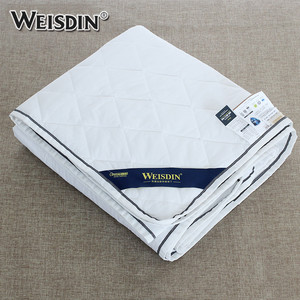 Luxury elastic quilted hotel waterproof mattress protector cover