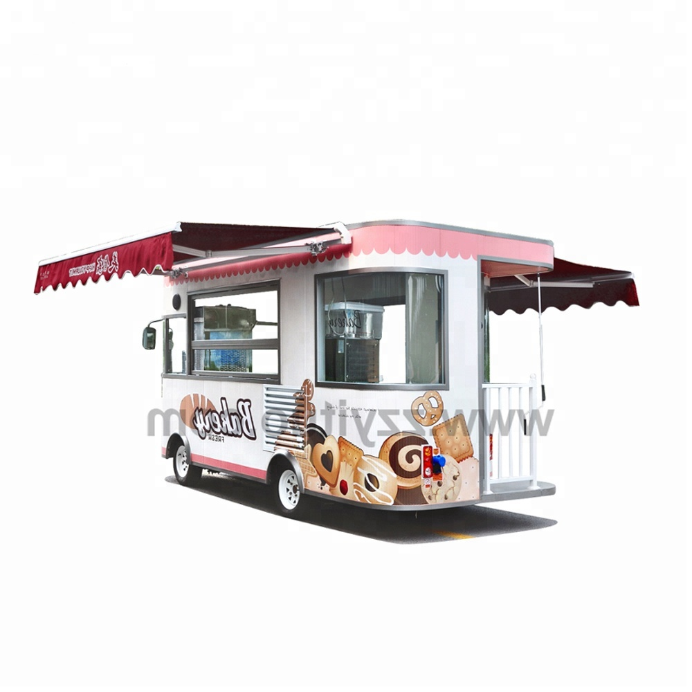 New arrival electric mobile food trailer/ newest design fast fryer mobile food cart/electric food truck