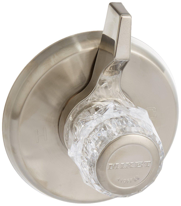 BrassCraft Mfg Mixet #MDXTR-5 SN Single Handle Tub and Shower Trim Kit - PVD Satin Nickel