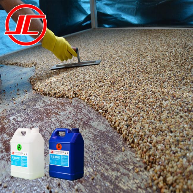 Chemical Resistant Shiny Smooth Transparent Epoxy Resin Floor For Terrazzo Epoxy Buy Shiny Smooth Chemical Resistant Epoxy Resin Product On