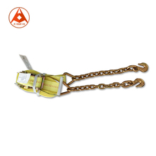 "2 ""30FT Ratchet <span class=keywords><strong>Tie</strong></span> Xuống Strap với Chain Neo"
