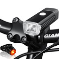 300 Lumens 4 Modes Rechargeable USB Bicycle Front Light Bike Ligths Lamp Accessories
