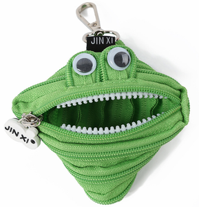 new design wholesale hanging coin purse personalized coin bag clown monster mini zipper pouch
