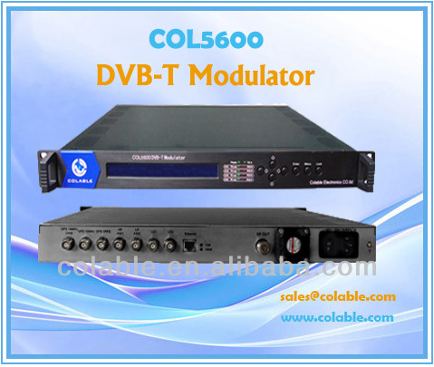 2014 High Quality for COL5600 Professional Agile Modulator
