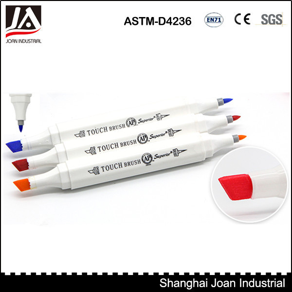 216 color professional double ended fabric marker