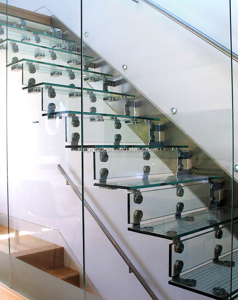 Delightful N117 Wholesale China Cheap Glass Stairs Price, Safety Custom Cantilever Glass  Staircase, High Quality