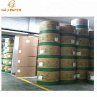 High Bulk Jumbo Roll Semi Gloss Paper 80gsm
