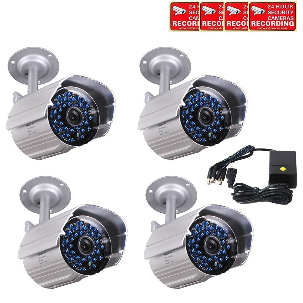 CCTV IR Day Night Vision Weatherproof 520TVL High Resolution Security Camera c1y
