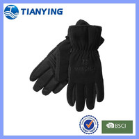 men black winter wholesale fleece gloves
