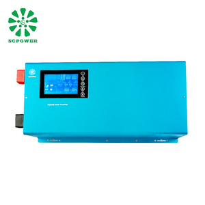 Adjustable feed-in rated power single phase on grid 2kw 3kw 4kw 5kw 6kw solar hybrid inverters