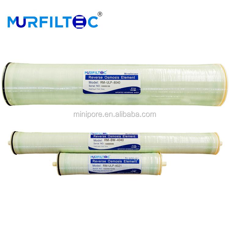 Mejor Precio Murfiltec ro membrana 4040 de 8040 a 2540 para la desalación de agua de mar