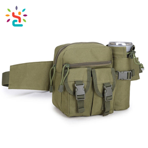 Fashion tactical camo waist bag running sports military travel waist bag  vacuum cup holder tactical military plain waist bag a21cba4c48d89