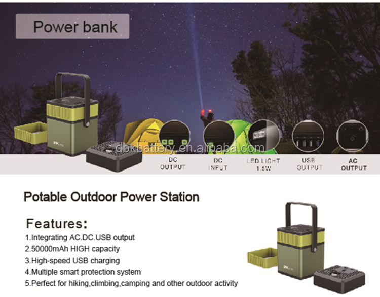 hot sales separable inverter 180W storage energy supply battery portable power station