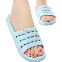 Wholesale Women Mens EVA Bathroom Slippers Open Toe Quikly Dry Shower Slipper for House Bedroom Indoor