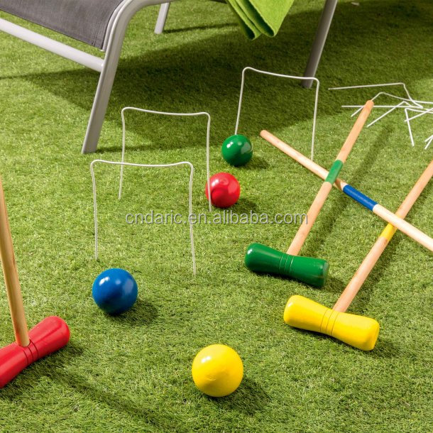 Wooden cricket game set/wooden gate ball set