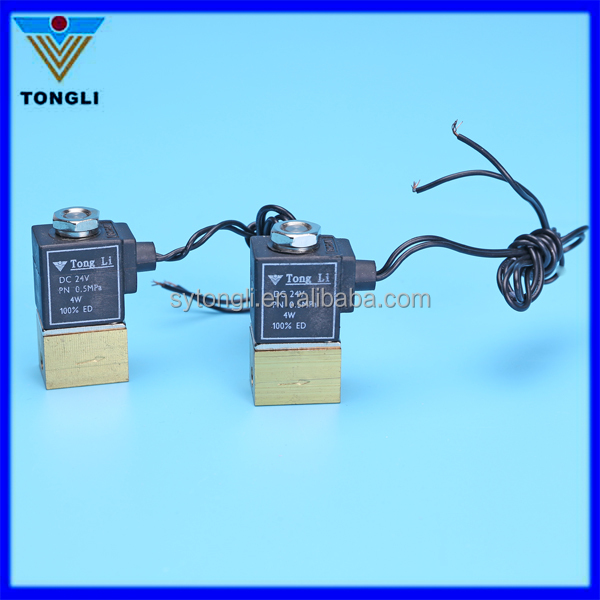 ZCT solenoid valve (dental valve) square for medical instrument