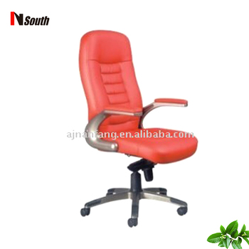 red leather office chair. Hot Sale Color Optional Leather Office Manager Chair Red L